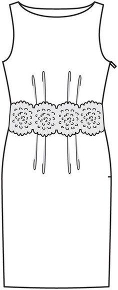 Платье - выкройка № 126 из журнала 5/2013 Burda – выкройки платьев на Burdastyle.ru