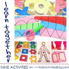 9 activities for preschooler kids to learn together, through play
