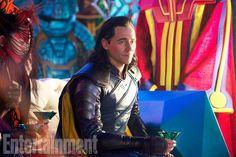 Tom Hiddleston dans Thor : Ragnarok
