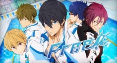 Free! An anime for all of my friends that love swimmer boys.