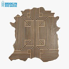 Tapis en cuir  - AVO  #LeBonMarche #Tendance #Green #GrennSpirit #Maison #Home #Bio #Organic #BrooklynRiveGauche