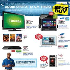 BEST BUY BLACK FRIDAY PREVIEW JUST RELEASED! Best Buy has just released aBlack Friday Preview, and we've posted it to our site. While they are just claiming this to be a preview of the Black Friday ad, there are plenty of deals that will be sure to draw huge crowds.  Best Buy will be opening their doors at midnight on Black Friday, and will be handing out tickets up to two hours in advance.  View the entire Best Buy Black Friday Preview here