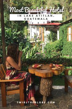 The Most Beautiful Hotel in San Marcos, Lake Atitlan, Guatemala - Lush Atitlan San Pedro Guatemala, Guatemala City, Atitlan Guatemala, Lake Atitlan, South America Travel, Beautiful Hotels, Oh The Places You'll Go, Best Hotels, Lush