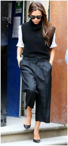 Victoria Beckham - celebrity street style
