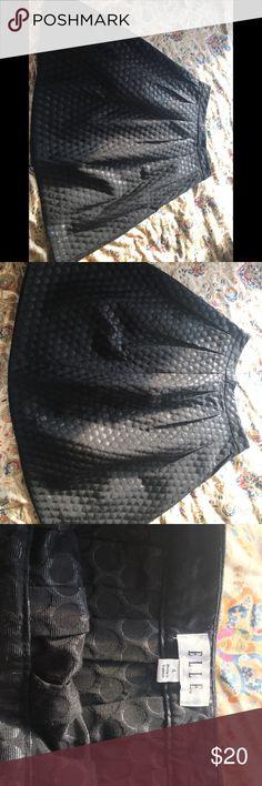 Midi Skirt Elle Black Polkadots size 4 Midi Skirt Elle Black Polkadots size 4 Elle Skirts A-Line or Full
