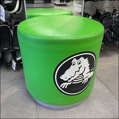 Sitting Bench, Sitting Area, Retail Merchandising, Bench Seat, Benches, Crocs, Ottoman, Green, Color