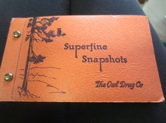 Vintage 1940s 50s The Owl Drug Co Superfine by kookykitsch on Etsy, $12.00