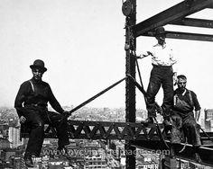 Erecting a Skyscraper, 1907