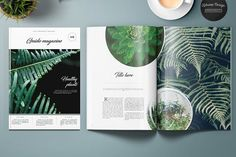 Guido Eco Garden Magazine by Kahuna Design on @creativemarket