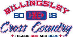 IZA DESIGN custom cross country team shirts.  Cross Country T-Shirt Design - Sport Country (desn-530s1).  Specializing in custom cross country team tshirts for 30 years.