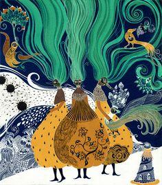 very unique! Sveta Dorsheva  Fairy Tale Illustrations