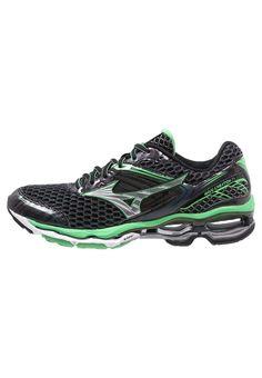 Chaussures de sport Mizuno WAVE CREATION 17 - Chaussures de running neutres - ombre blue/silver/irish green bleu: 152,00 € chez Zalando (au 13/01/17). Livraison et retours gratuits et service client gratuit au 0800 915 207.