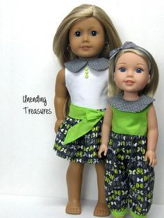 18 inch doll clothes AG doll clothes by Unendingtreasures on Etsy