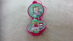 #Vintage Bluebird #Polly Pocket Pkeep it fit locket #necklace compact complete - ,  View more on the LINK: http://www.zeppy.io/product/gb/3/269119159/