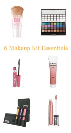 6 Makeup Kit Essentials