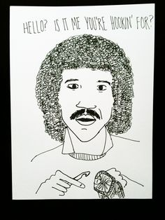 Lionel Richie clearly loves #crochet