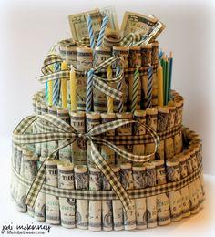 money birthday cake Jake 27