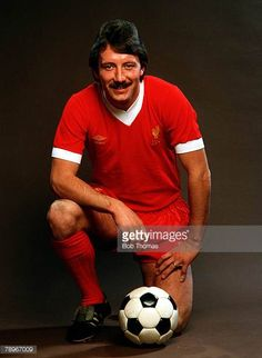 Football Circa 1980 A portrait of Liverpool FC player Jimmy Case