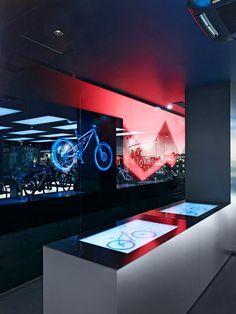 Rose Biketown Store by Blocher Blocher Partners at MONA Mall, Munich – Germany » Retail Design Blog