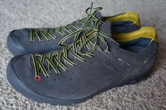 Salewa MS Ramble GTX Smoke Gray Green Gore-Tex Waterproof Trail Shoes Men's 9 #Salwea #HikingTrail