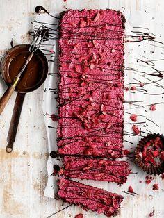 Raw Strawberry Tart | Donna Hay