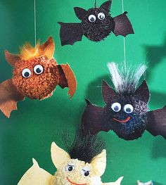 #Knutselen met pompons en de pomponmaker (voor kinderen)