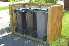 Avfallsdunker: Her er det beste skjulet til søpla   GJØR DET SELV