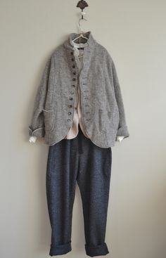 라르니에 정원 LARNIE Vintage&Zakka Warm Outfits, Cool Outfits, Fashion Outfits, Womens Fashion, Mori Fashion, Fashion Looks, Looks Style, My Style, Fashion Project