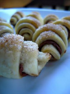 Nutella Pie Crust Crescents