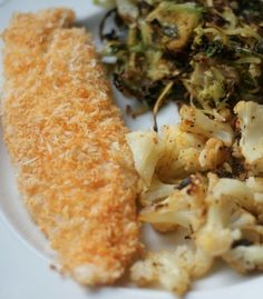 thehealthyhostess.com - healthy coconut crusted tilapia