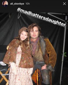 "@sebcstianstan so cute!! 18th May 2018: @Ali_skovbye who played Sebastian's daughter in ""Once Upon a Time"" has posted these throwbacks of her time on set with him!"