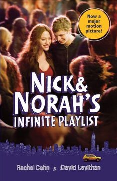 Nick & Norah's Infinite Playlist by Rachel Cohn and David Levithan : Great book and I dare say the movie did the book somewhat justice :) David Levithan, Singing Lessons, Singing Tips, Kat Dennings Thor, Michael Cera, Summer Reading Program, Thing 1, Books For Teens, The Fault In Our Stars