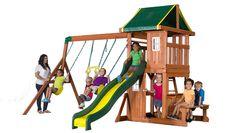 Oakmont Built for smaller yards and huge fun!