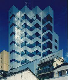 Yoyogi Forest Building | 1987 | Tokyo, Japan | Sakakura Associates