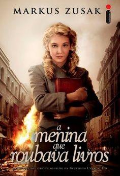 Capa do livro A Menina que Roubava Livros