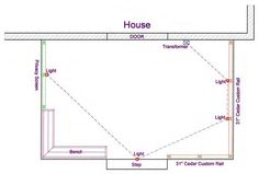 Deck low voltage lighting wiring diagram. Ideas for the