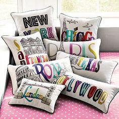 $29.00 wanelo.com set of pillows sooo cool!