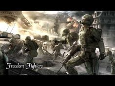 Two Steps From Hell - Freedom Fighters Science Games, Fun Games, Two Steps From Hell, Armored Core, Sci Fi Armor, Tom Clancy, High Resolution Wallpapers, Freedom Fighters, Star Wars Clone Wars