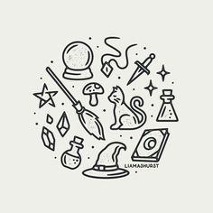 amei este desenho eu fiz um igual sinho mas eu amei o meuuuuuuu e o seu tbbb obrigada Doodle Drawings, Easy Drawings, Arte Do Harry Potter, Harry Potter Drawings Easy, Desenhos Harry Potter, Doodles, Doodle Art Journals, Witch Art, Grafik Design