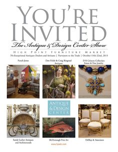 Antique & Design Center of High Point April 16-23, 2015