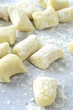 gnocchi - will work for sweet potatoes or even squash!