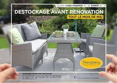 DESTOCKAGE THENGBERG FURNITURE. Call: 211 7936