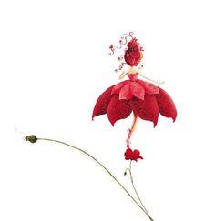 Bellasecretgarden - (via Cathy Delanssay Art And Illustration, Illustrations, Flower Fairies, Flower Art, Tracing Art, Dibujos Cute, Hippie Art, Fairy Art, Artist Art