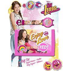 Soy Luna - Set Relógio Digital e Carteira
