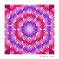 Pink and purple Star