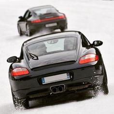 Cayman S, Car Ins, Carrera, Circuit, Milan, Porsche, Ice, Snow, Ice Cream