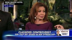 'It's a Bribe!': Judge Jeanine Rips State Dept for Alleged 'Quid Pro Quo' Offer