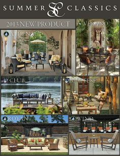See All Of Our Exquisite New Outdoor Collections In Chicago At The Casual Market Preview Show