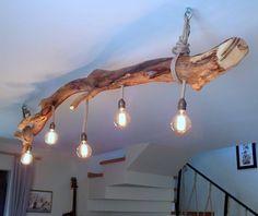 Diy Bedroom Decor, Diy Home Decor, Edison Lampe, Old Wood Texture, Stair Risers, Wood Lamps, Wood Ceilings, Rustic Lighting, Old Barns