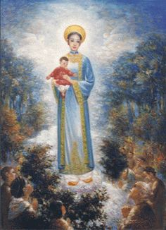 18th century apparition of Our Lady at La Vang, Vietnam